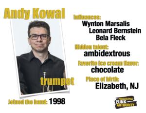 ANDY KOWAL - TRUMPET