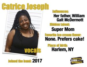 CATRICT JOSEPH - VOCALS