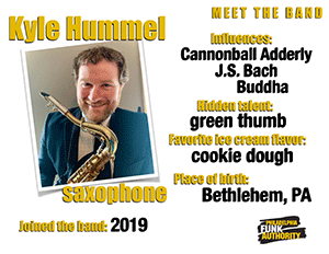 KYLE HUMMEL - SAXOPHONE